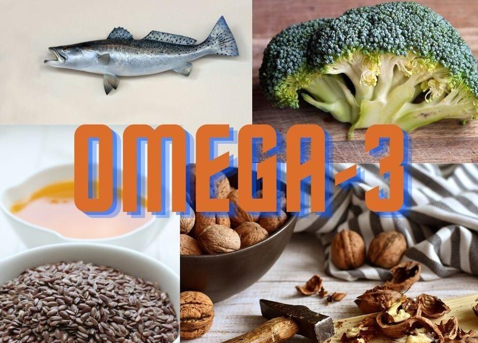 Omega-3 zsírsavak 🐟🥜🥦